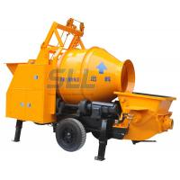 Construction Hydraulic Concrete Mixer Machine 5.5kw 560L For Ground Transportation Manufactures