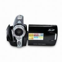 Digital Video Camera with 12-megapixel Camera Resolution and Li-ion Battery Power Supply Manufactures