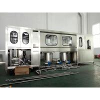 China Fully Automatic Drinking Water Filling Machine 600-3000BPH For 5 Gallon PET Bottle on sale