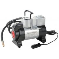 Silver and Black Metal Air Compressor For Car Inflation With Led Light Manufactures