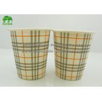 China Single Wall Take Away 16oz / 20oz Insulated Disposable Coffee Cups With Lids on sale
