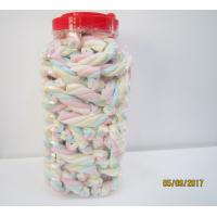 Rope Shape Twisted Marshmallow Candy , Gourmet Marshmallow Easter Candy Manufactures