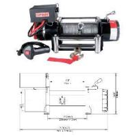 Electric Winch, Model#EWP6000 Manufactures