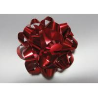 Colourful 4 dia 24 loops Star Bow with satin , polyester , organza for gift basket Manufactures