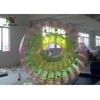 Popular Big Colorful Funny Inflatable Water Toy / Roller Commercial Grade for Kids Manufactures