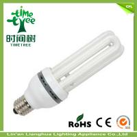 3U Shaped Fluorescent Light Bulbs 15W Color Temperature 6000H High Power Factor  Energy Saving Lamp / CFL Manufactures