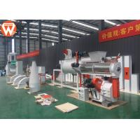 Small Cattle Poultry Pellet Feed Plant With Electronic Control System 1-2T/H Manufactures
