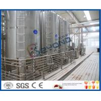 Soy Milk Fermentation Process, Industrial Yogurt Machine , Cheese Yogurt Making