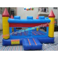 China Big Outdoor Ben 10 Commercial Bouncy Castles , With Blower Slide For Kids on sale
