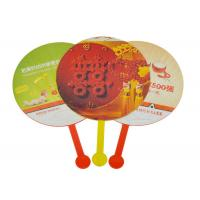 Buy cheap Full Color Print Custom Hand Fans Business Gift For Advertising from wholesalers