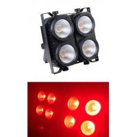 China Colorful 4pcs * 100W RGBW LED Par Can Lights For Disco / Stage Lighting Blinders on sale