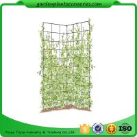 "Two Panel Folding Screen Trellis , Garden Trellis Plant Support ​35-1/2"" W x 58"" H overall  Powder-coated steel Manufactures"