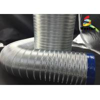 Fire Retardent Semi Rigid Aluminum Duct Aluminum Flexible Extruded Aluminum Air Pipes Manufactures