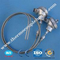 China Armored K Type Thermocouple Rtd Temperature Sensor For Electric Stove on sale