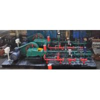 Buy cheap Horizontal Triplex Plunger Pump , Reliable Operation Reciprocating Water Pump from wholesalers