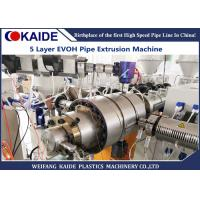 Kurary Oxygen Barrier Composite Pipe Production Line , Plastic Tube Making Machine Manufactures