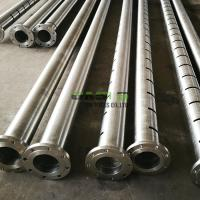 ERW Vertical Slotted Well Screen Pipe High Overall Strength For Deep Well Manufactures
