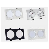Buy cheap Modern Square Recessed LED Grille Downlight Mr16 Or Ar111 For Hotel Supermarket from wholesalers