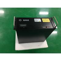 Black 4U 48V 75Ah NCM ESS Battery With UN38.3 UL For Telecom Power Supply Manufactures
