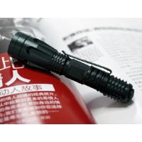 China Household IPX7 Waterproof Cree Led Tactical Flashlight Push Button Switch on sale
