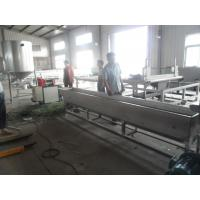 1000kg/h Recycled Plastic Granules Machine Noodle Cutting Pelletizer of PP / PE Manufactures