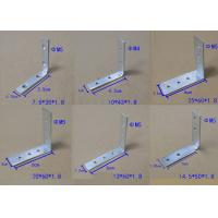Zinc Plated Corner Fixing Set Iron For Vertical Top Profiles And Drawer Profiles Jointed Truss Bracket Manufactures