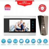 With Motion Detection Alarm wired Video Intercom Phone AC 12 video Door Bell Manufactures