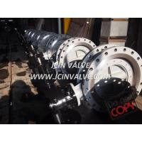 Triple offset flange type butterfly valve Manufactures