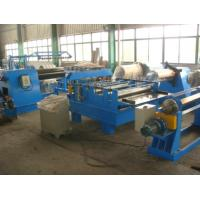 China 11Kw Motor Power  Cut to length Line Steel Slitting Machine High Speed Carbon Steel  Thickness 0.25 - 1.2mm on sale