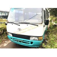 TOYOTA Used Diesel School Bus 18 - 25 Seat With 81 - 110 Km/H Max Speed Manufactures