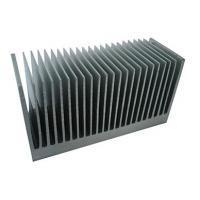 Industrial Aluminum Heatsink Extrusion Profiles , with drill ,cutting ,tapping Manufactures
