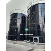 Leachate Storage Glass Fused Steel Tanks With AWWA D103 / EN ISO28765 Standard Manufactures