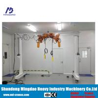 CE ISO Cetifficates Approved Saftey Mini Hand Operated Simple/Light Duty Small Gantry Crane Manufactures