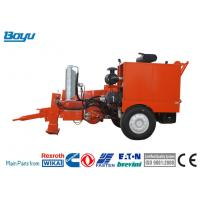 Max pull 190kN Hydraulic Cable Puller For Transmission Line Engine: Cummins Manufactures