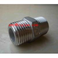 Buy cheap stainless ASTM A182 F317l hex nipple from wholesalers