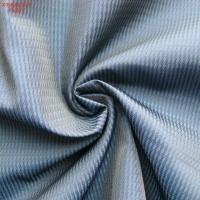 China F4297 100% polyester memory  fabric for outdoor jacket twill jacquard two tone weaving on sale