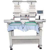 9/12/15 Colors High Speed Cap Embroidery Machine / Embroidery Equipment Manufactures