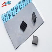 Quality LED Light Compressible Gap Filler Pad , Heat Sinking Thermal Conductive Silicone for sale