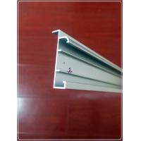 Anodized Silvery Window Aluminum Profile Extrusion Curtain Frames For 6063 T5/T6 Manufactures