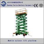 Diesel mobile scissor lift table Manufactures