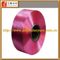 100% poliester yarn dope dyed FDY Manufactures
