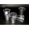 PET Disposable Transparent Plastic Cup , Clear Disposable Cups for sale
