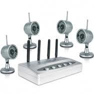 China View 4 infrared Images Wireless CCTV Camera Systems CX-W802Z4 with 2.4ghz receiver on sale