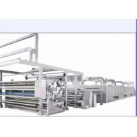 China Woven Fabric Stenter Machine Humanized Design With Inverter Controlled on sale