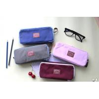 supply all kinds of high school canvas pencil case Manufactures