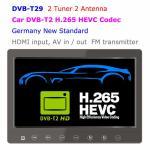 DVB-T29 9 inch portable DVB-T2 LCD TV monitor 2017 HD FTA Freenet H265 HEVC Codec Manufactures