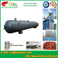 Power Plant CFB Boiler Drum Environmental Protection , Oil Steam Boiler Drum Manufactures