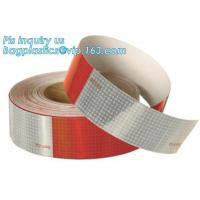 Engineering Grade Prismatic Reflective Sheeting Tape,3m pavement marking tape road reflective pattern tape,3M Red&White Manufactures