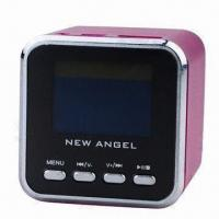 1.5-inch Screen Mini Music Speaker with Cube, Supported TF USB ANT Manufactures