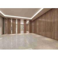 Buy cheap 3D Finish Acoustic Aluminum Frame100MM Thickness Movable Partition Wall from wholesalers
